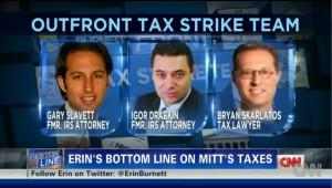 Gary Slavett & Igor Drabkin on CNN Tax Strike Team