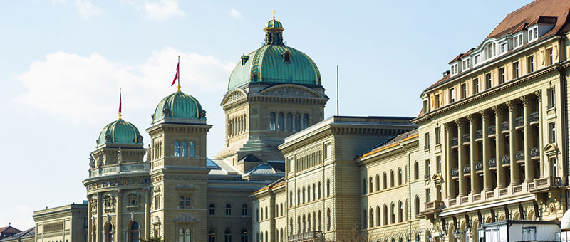 Swiss parliament building