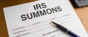 IRS summons