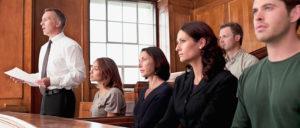 jury with verdict