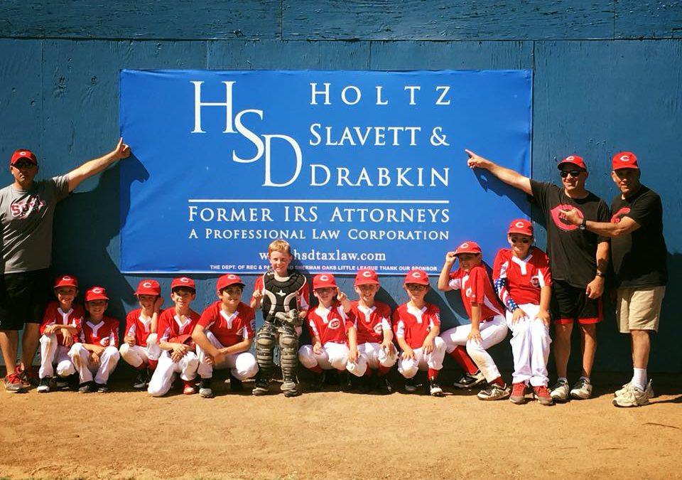 Congratulations to Sherman Oaks Little League AAA Reds on winning the Championship!!