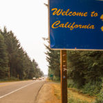Welcome to California sign