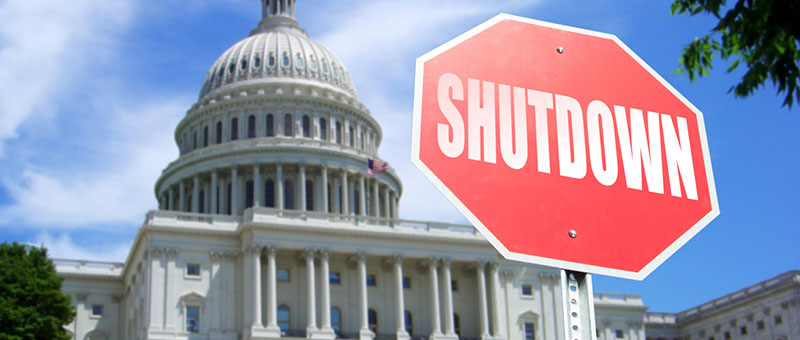 Government Shutdown Effect on IRS and Tax Court