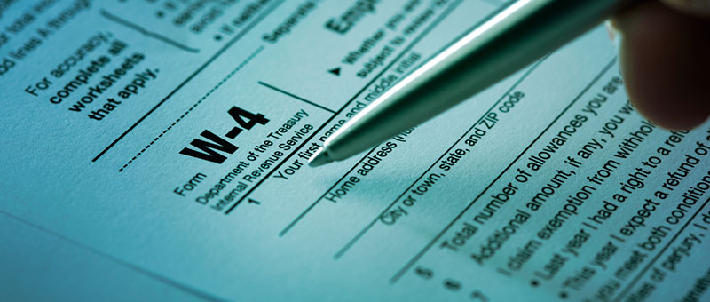 IRS to Overhaul Form W-4: Employee Withholding Allowance Certificate