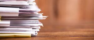 backlog of cases - paperwork