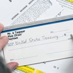 Writing check to IRS for taxes
